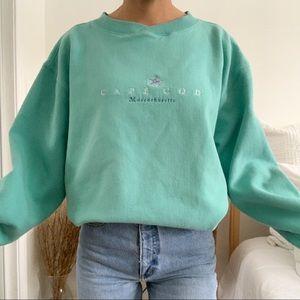 Vintage Cuffy's Cape Cod Massachusetts Sweatshirt